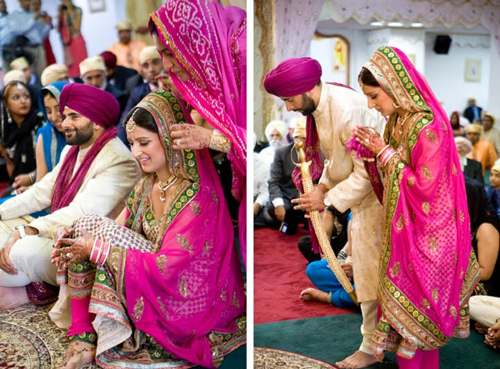 Just Came Across This Beautifully Elegant Sikh Wedding In Ny