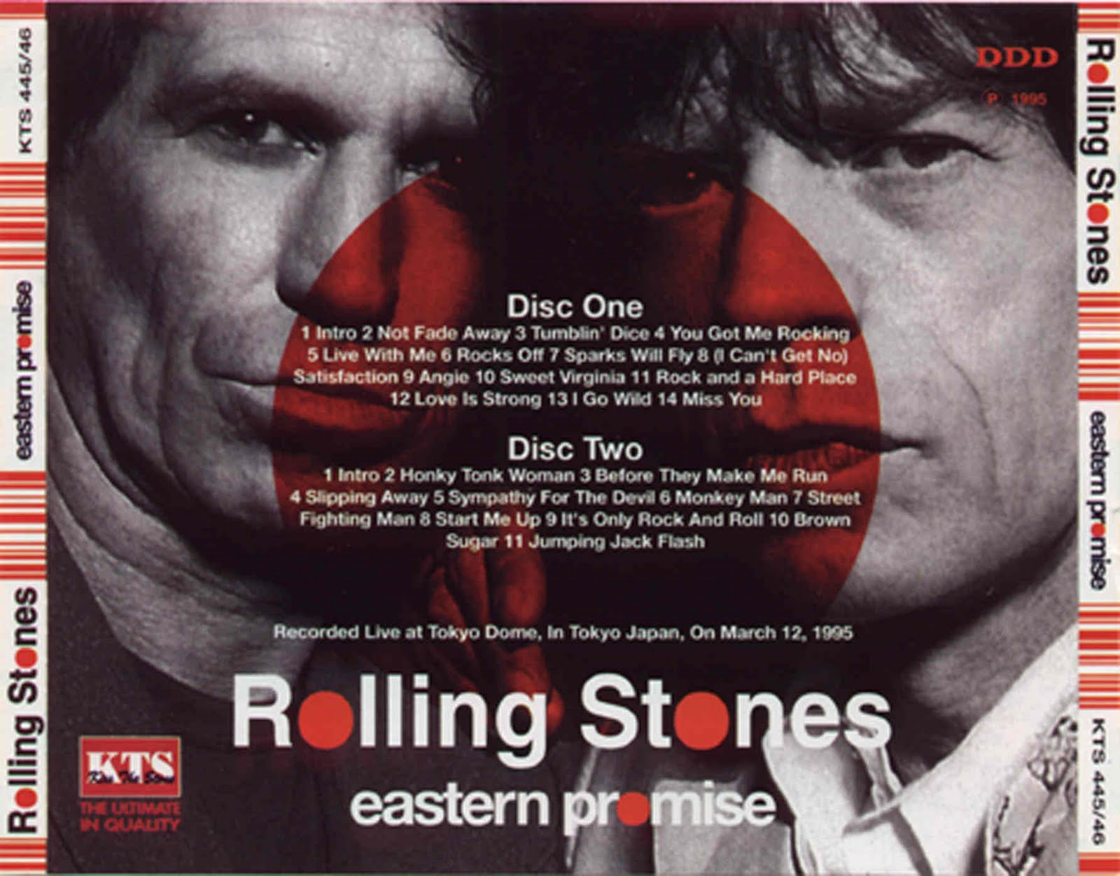 Rolling Stones - 1995-03-12 - Tokyo Japan<br>