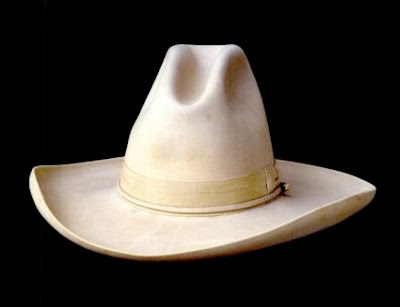 The first American law-enforcement agency to adopt Stetson s western hat as  part of their uniform was the Texas Rangers. ef86fd71a43