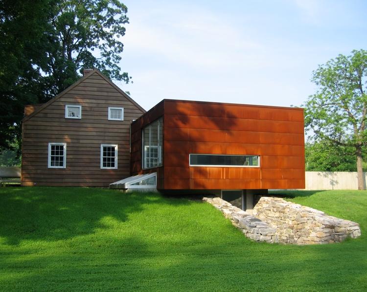 Uma casa de campo bem diferente