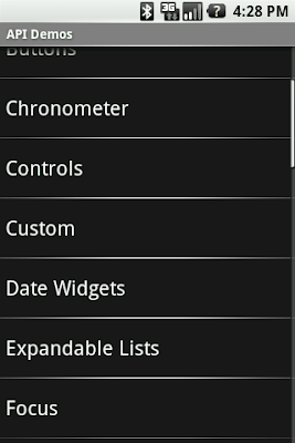Android's default ListView