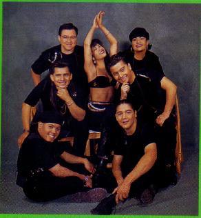 Selena & her band