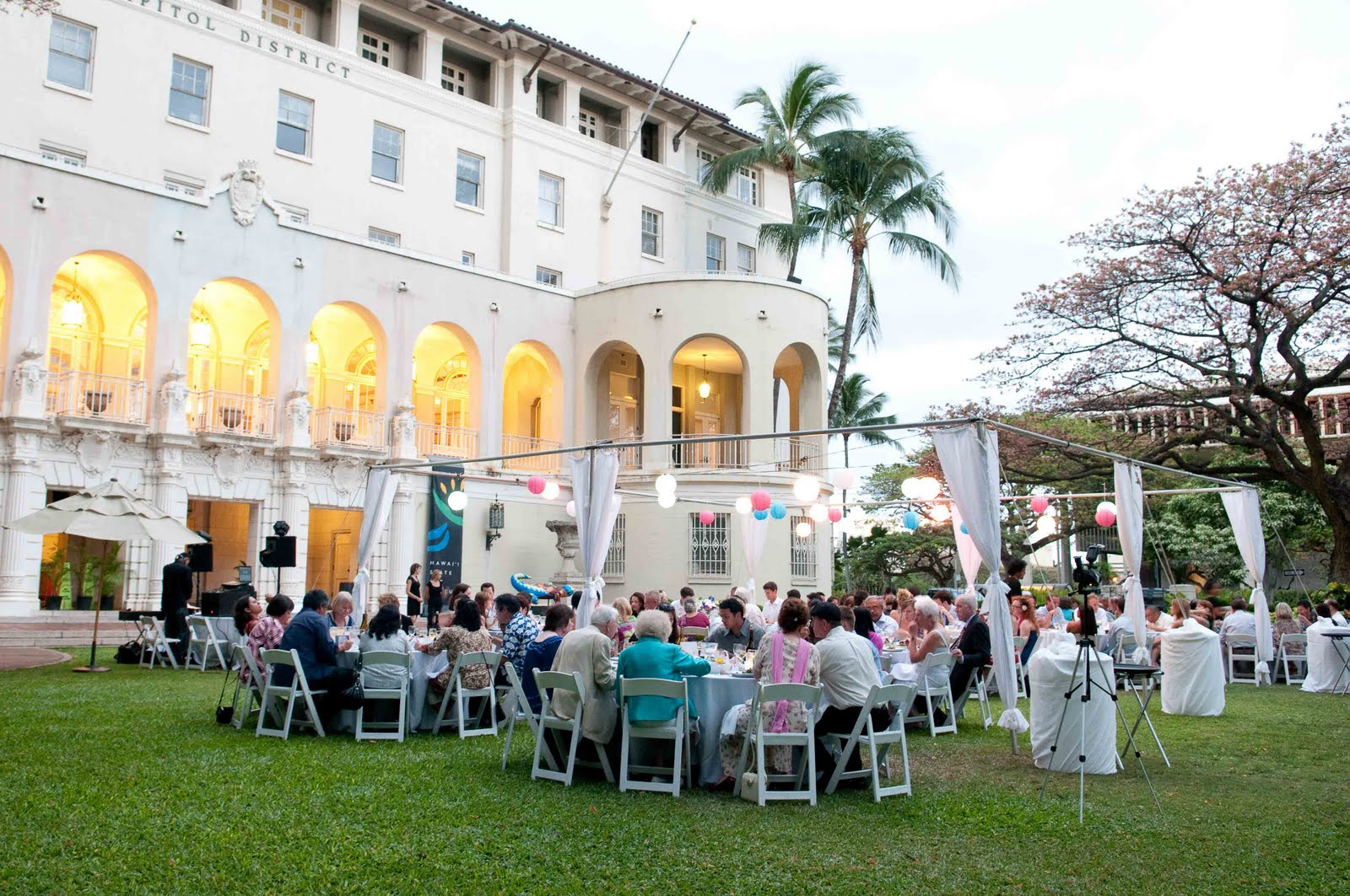 Hawaii State Art Museum Wedding