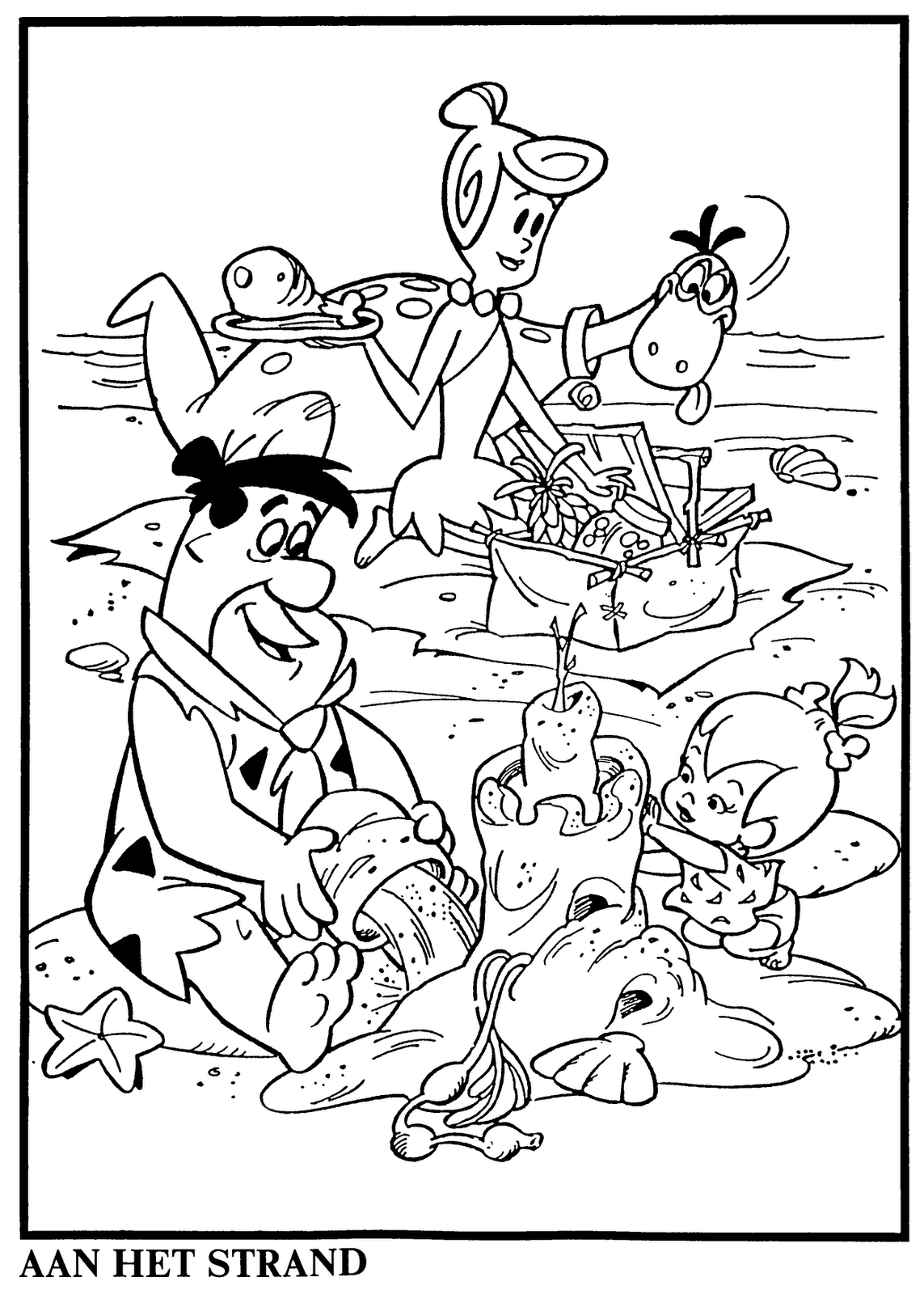 hanna barbera coloring pages - photo#34