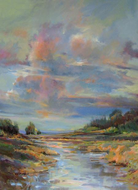 Acrylic Painting Sky