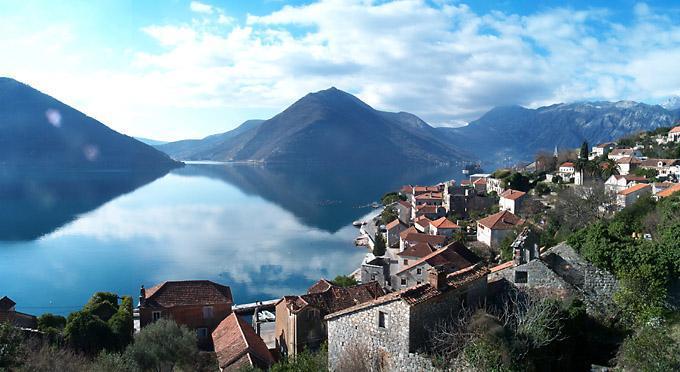 Perasto nelle Bocche di Cattaro in Montenegro, Patrimonio dell'Umanità dell'UNESCO
