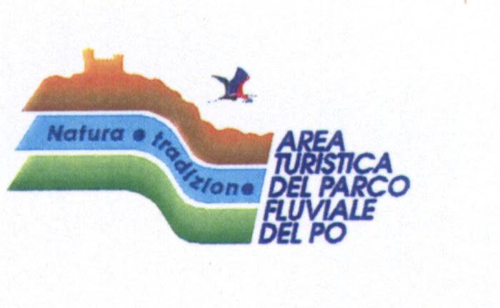Logo dell'Area Turistica del Parco Fluviale del Po, tratto Alessandrino Vercellese