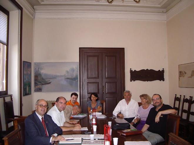 Giugno 2007. Incontro in Municipio a Mantova tra Sodalizi Monferrini e Mantovani