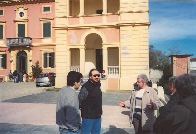 2002. Villa Badoglio di Asti. Primo corso regionale per Guardie Ecozoofile Volontarie.