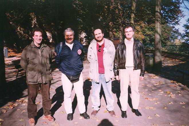 1998.Visita al Parco Naturale del Sacro Monte di Crea dell'importante ospite del Gruppo Gevam Onlus