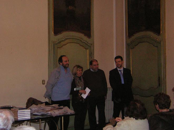 8 marzo 2008. Incontro ad Acqui Terme di una Delegazione della Società Palazzo Ducale di Mantova