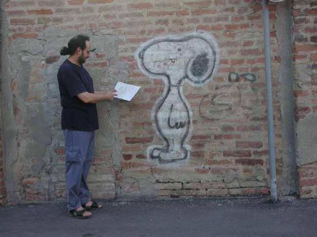 Claudio Martinotti, nel 2003 disponeva ancora del codino ...