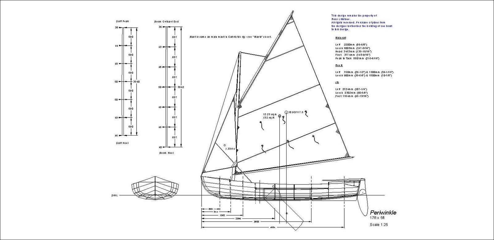 Ross Lillistone Wooden Boats February