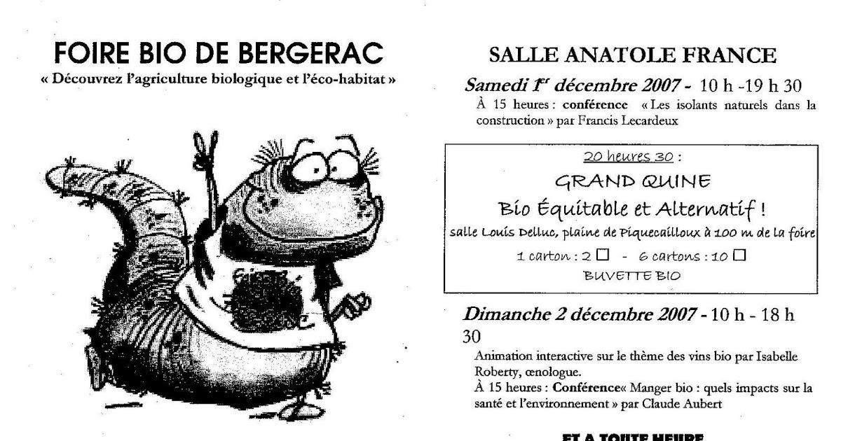 La ferme du puy en p rigord nos prochaines foires - Salon de the bergerac ...