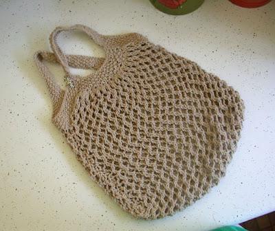 Knitted Market Bag Pattern : we wilsons: Knit a Market Bag