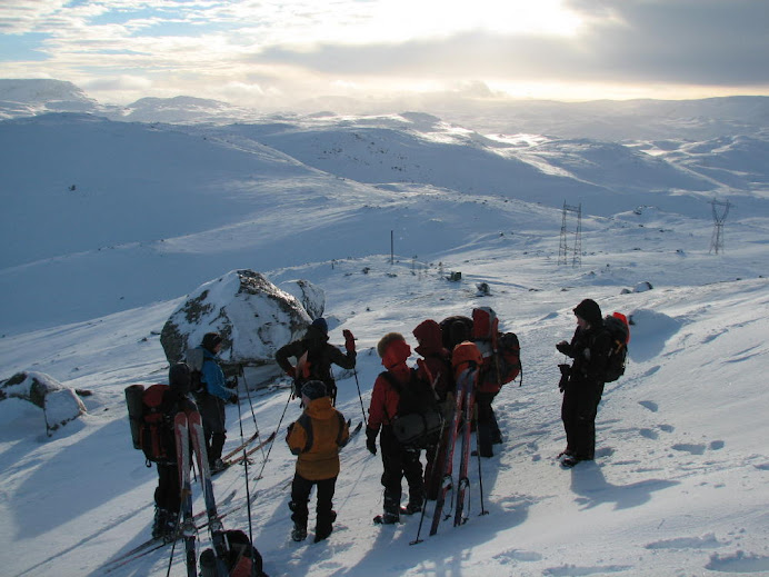 Ski Tour near Hallingskeid