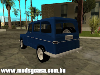 Ford Rural Willys para GTA San Andreas
