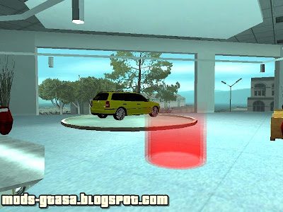 Car Sallon para GTA San Andreas