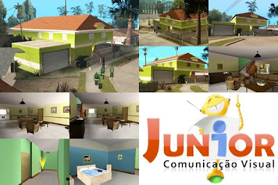 Nova Casa do CJ para GTA San Andreas