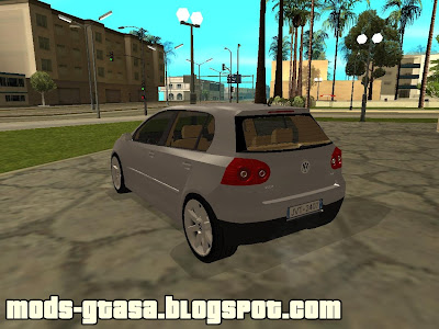 VW Golf V TDI para GTA San Andreas