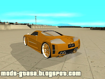 Chrysler ME Four Twelve para GTA San Andreas