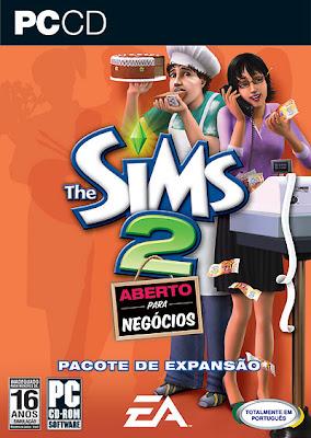 thesims 2 aberto para negocios The Sims 2 – Aberto para Negócios   Game PC