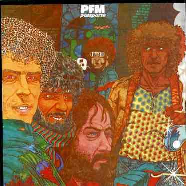 LP  della PFM Passpartù realizzata da Andrea Pazienza