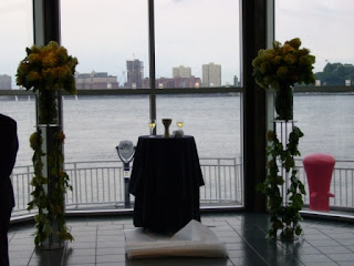 It Was Held At Chelsea Piers Overlooking The Hudson River