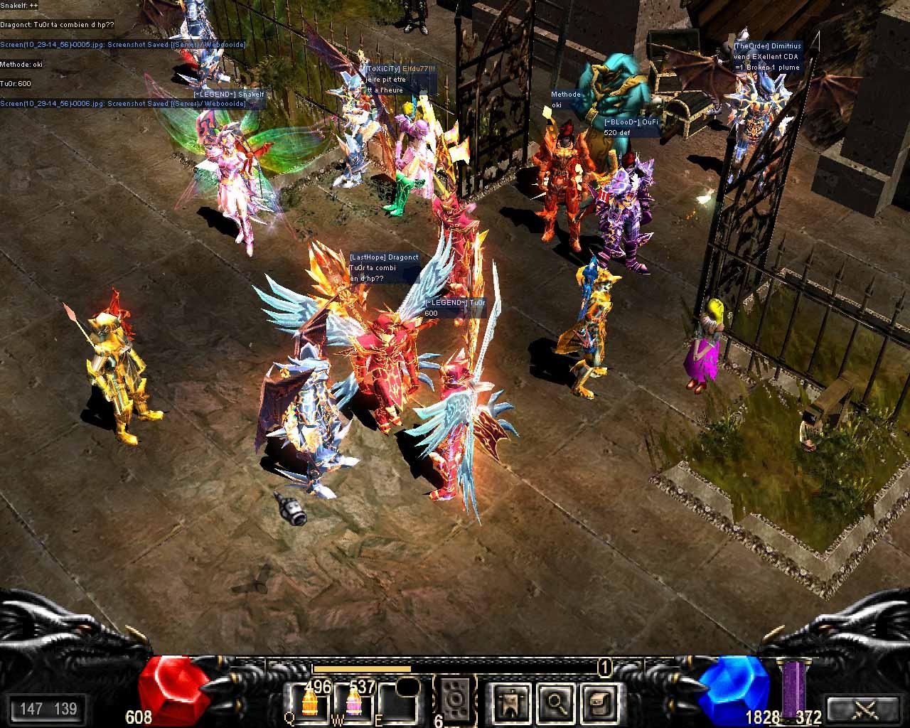 Mu online Обзор онлайн игры
