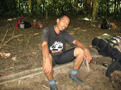 Izham at camping site
