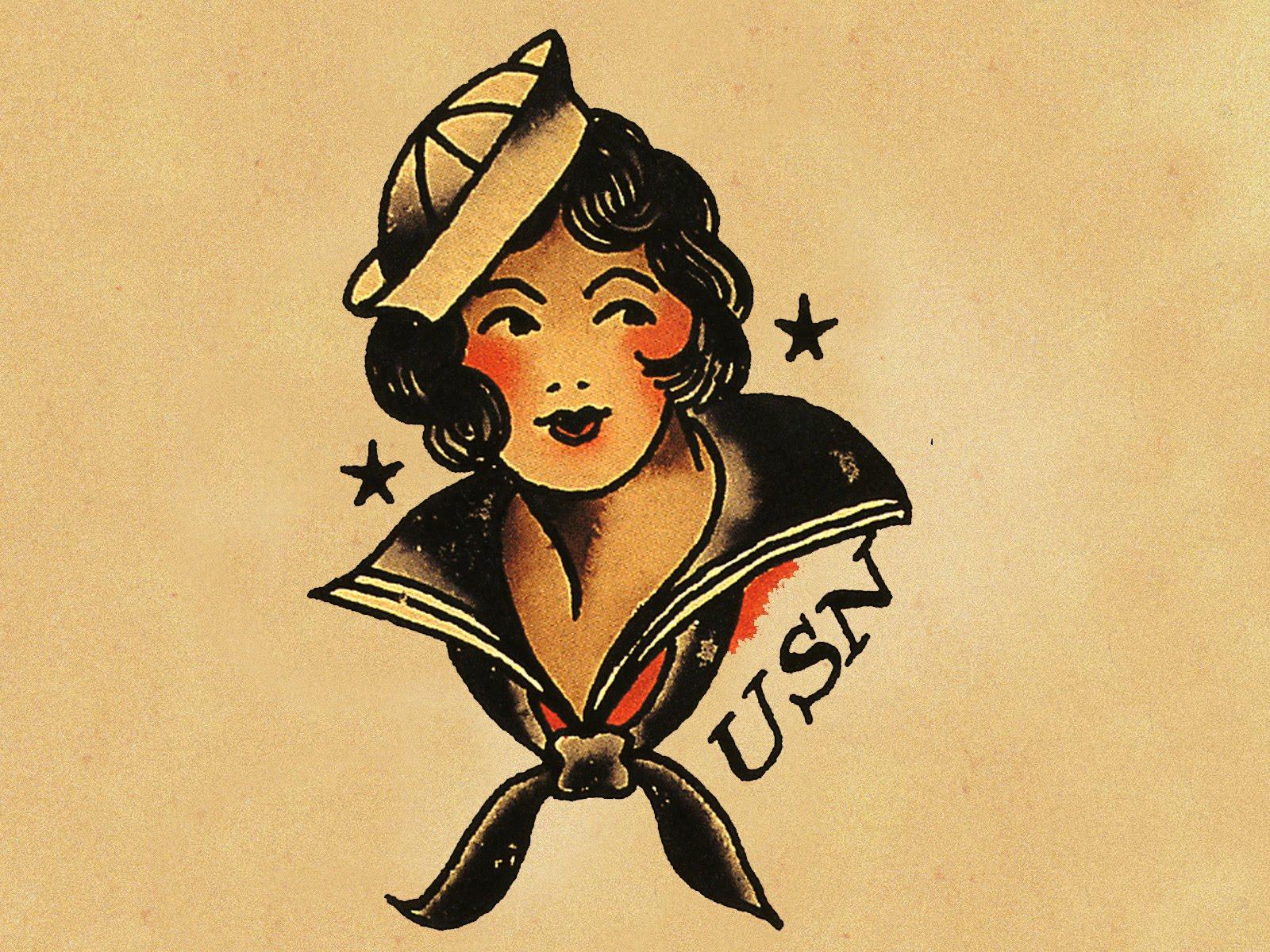 June Softly ~ Biker Blog: Happy 100th Birthday Norman ... Tattoo Artist Clipart