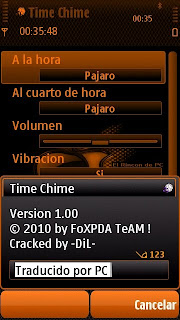 CellPhoneSoft Time Chime v1.0 S60v3.v5.
