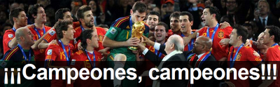 España gana su mundial
