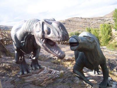 Los dinosaurios se extinguieron