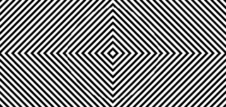 Neave strobe, Ilusión óptica