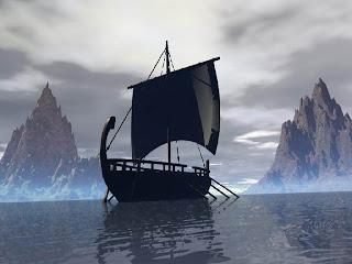 Barco vikingos