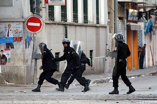 Policía de Tunez