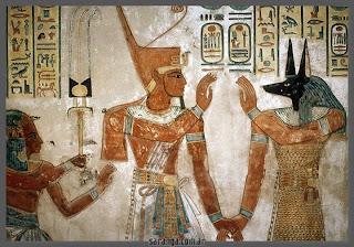 Osiris, el dios egipcio de la resurrección