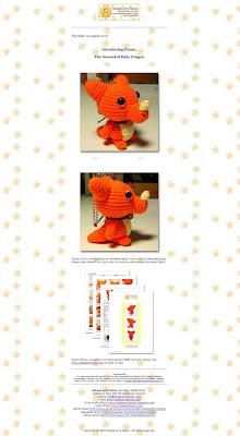 Baby Dragon Free Crochet Pattern | 400x220