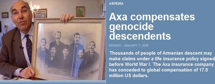 2300) Media Scanner 25 Jan 2008 (140 Items) | Armenian Genocide
