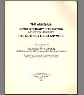 Scanned Copy: Dashnagtzoutin Has Nothing To Do Anymore by Katchaznouni