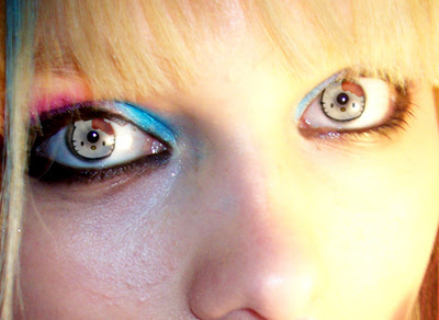brett jordan: hello kitty contact lenses
