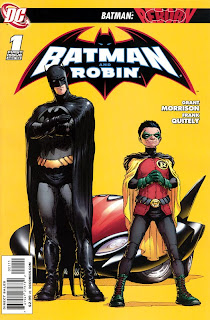 Batman and Robin Issue One Grant Morrison Frank Quitely Free Comic Book Day FCBD DC Comics Cover comic book issue