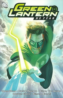 Review Green Lantern No Fear Geoff Johns Darwyn Cooke Carlos Pacheco Ethan Van Sciver Simone Bianchi Secret Files and Origins DC Comics Cover trade paperback tpb comic book