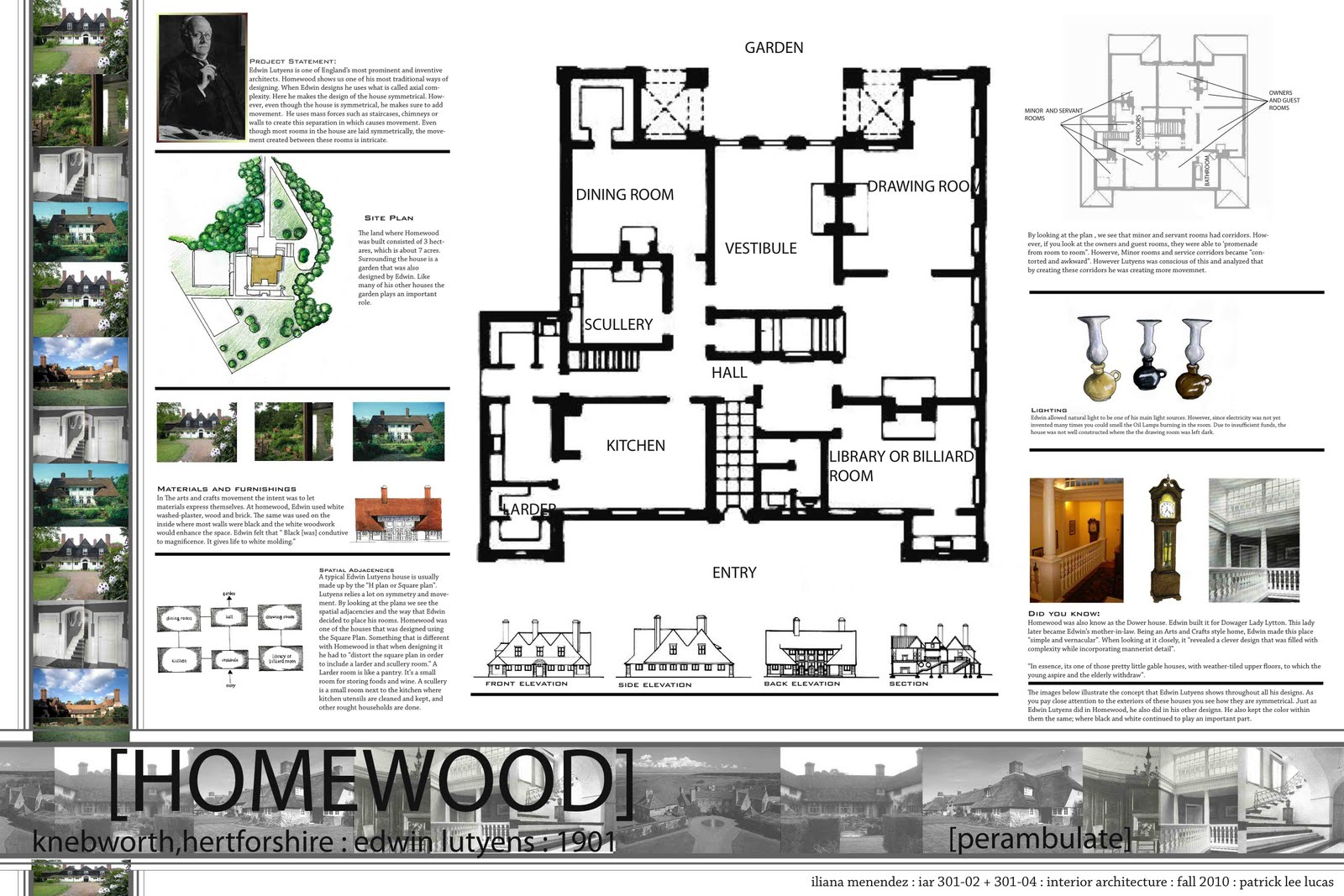 Iliana Menendez: Great Houses Process.Iliana Menendez