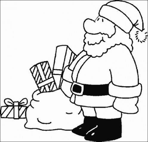 Santa Claus Coloring Pages for Christmas 2011 | Kids ...