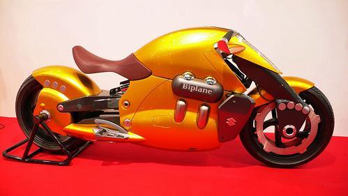 Moto amarela