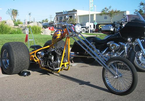 Moto de três rodas