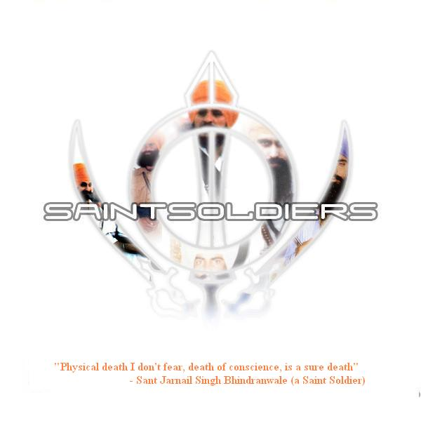 Saint soldiers