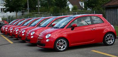 alfanews autos aus italien meine leidenschaft fiat 500 sonderedition in rosso ferrari. Black Bedroom Furniture Sets. Home Design Ideas